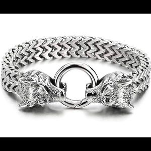 Other - Stainless Steel Franco Link Curb Chain Bracelet